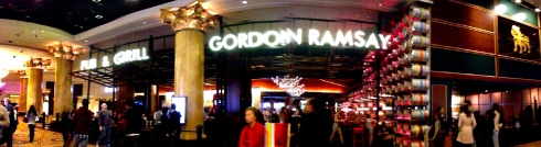 A bit of Britain in Caesar's Palace.